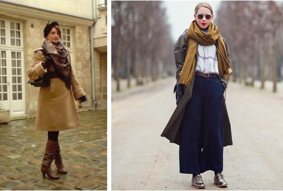 Выбираем аксессуары и обувь для весеннего пальто